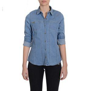 Camisa-de-jean-de-mujer