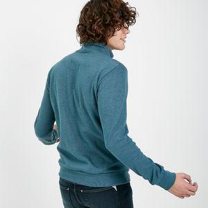 buzo liso de hombre flat back algodón